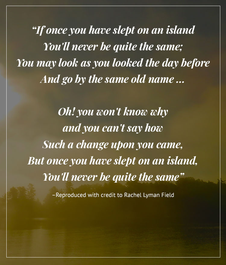 Poem by Rachel Lyman field