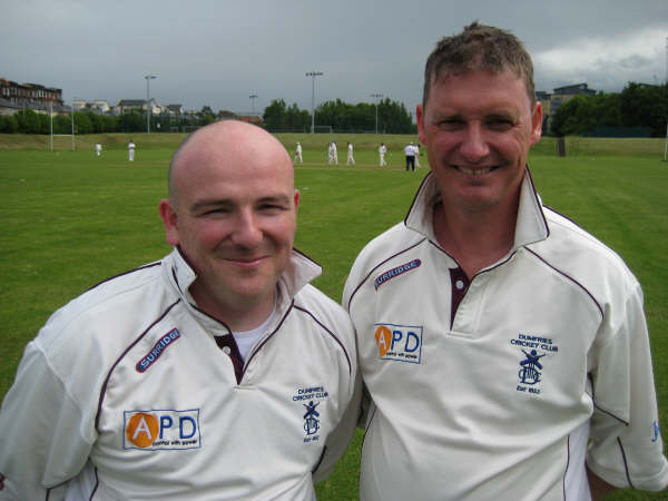 In the Scottish team of the day, Byers - 5 catches, Alexander - 5 wickets