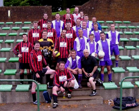 A victorious DSC United FC