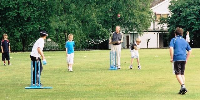 Kwik Cricket action at Nunholm