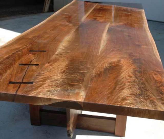 Triple Walnut Crotch Slab Table Top