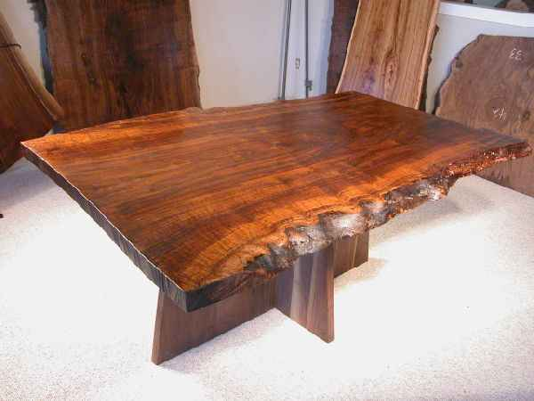 Rustic Custom Made Kitchen Tables: By Dumond's Custom
