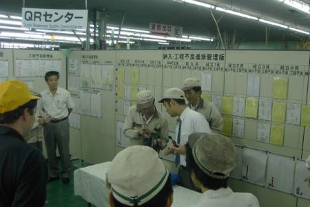 QRQC Meeting at Ichikoh Isehara