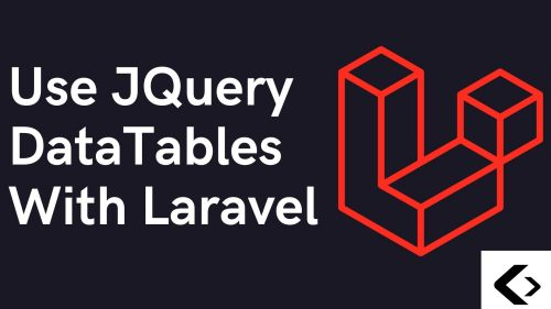 Laravel JQuery DataTable Example