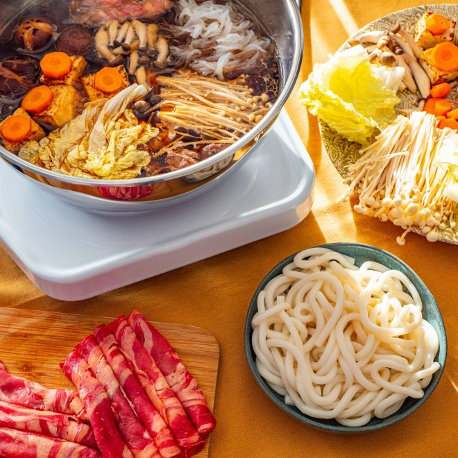 Sukiyaki - Fondue Japonaise - Recette