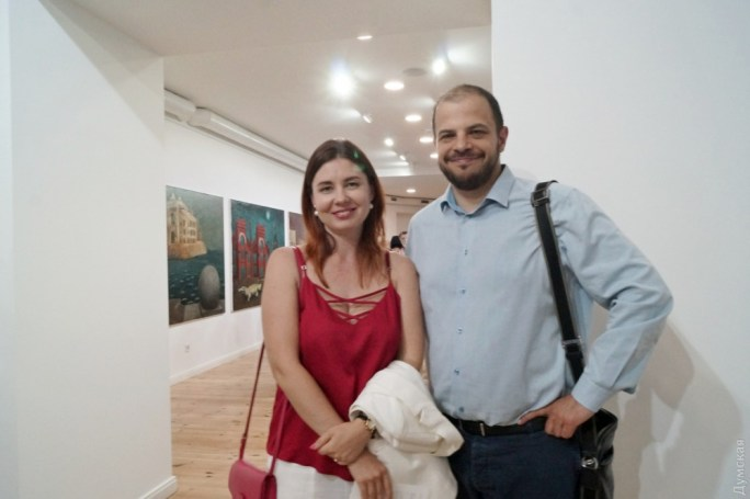 Политик Михаил Шмушкович с супругой