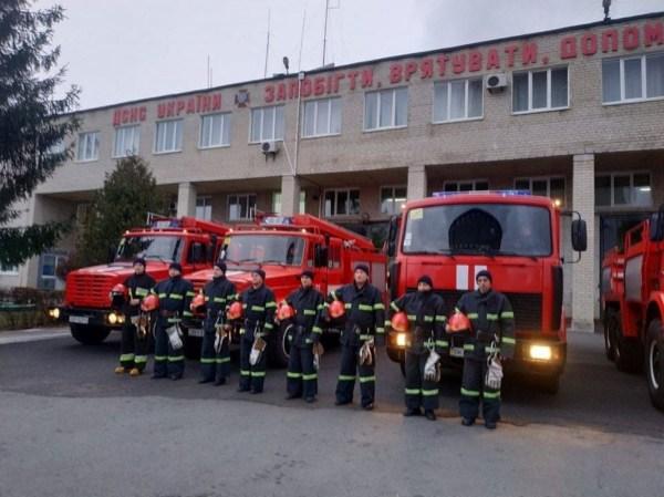 В украинских пожарных частях звучали сирены в память о ...
