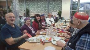 Christmas Lunch 2017, Dunbar Garden Centre
