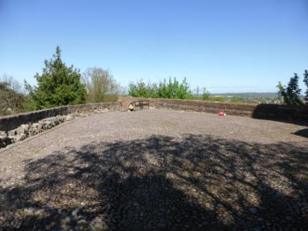 Once Shrewsbury Castle Mound