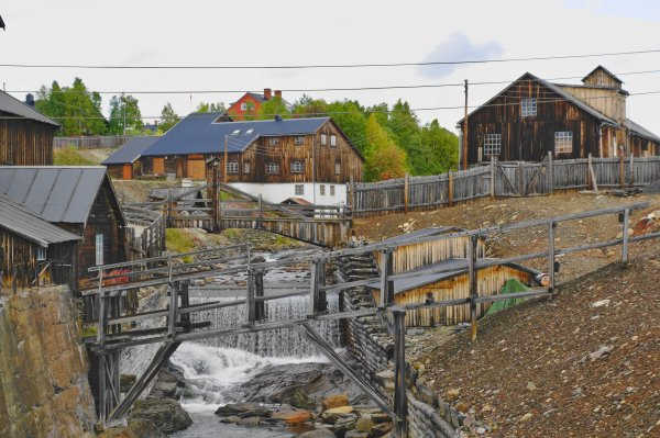 Copper Smelter, Roros, Trondelag County, Norway