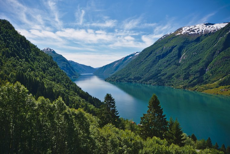 Fjaerlansfjorden, Vestland County, Norway - ...behind every picture, there is a story...