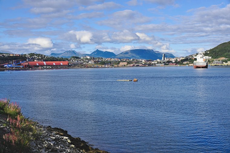 Narvik and Beisfjorden, Norland County, Norway