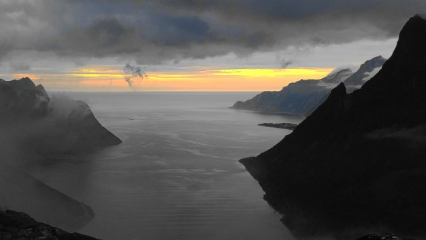 Øyfjorden, Isle of Senja, Troms og Finnmark, Norway - ...behind every picture, there is a story...