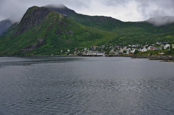 Oyfjorden and Fjordgard village, Island of Senja, Troms og Finnmark, Norway - ...behind every picture, there is a story...