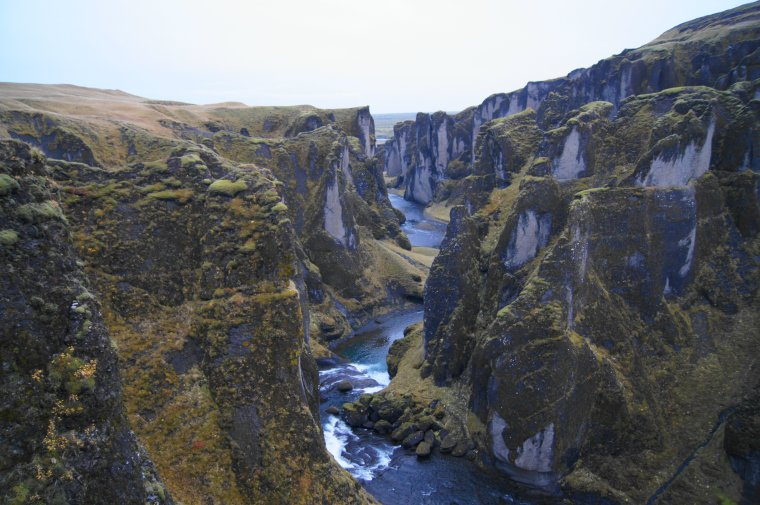 Fjaðrárgljúfur Canyon, Iceland - ...behind every picture, there is a story...