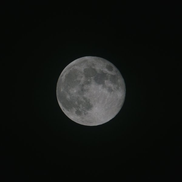 Full Moon taken from Lothersdale, Craven, North Yorkshire, England