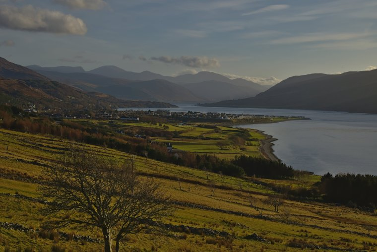 Loch Broom and Ullapool, Ross and Cromarty, North West Coast Scotland - ...behind every picture, there is a story...