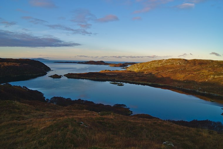 Loch an Obain, near Scourie, Sutherland, North West Scotland - ...behind every picture, there is a story...