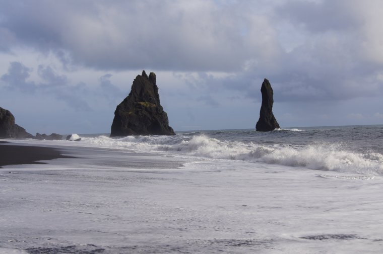 Reynisdrangar stacks, Iceland - ...behind every picture, there is a story...