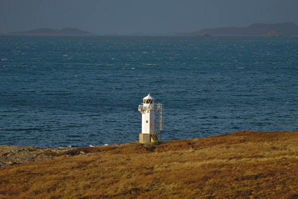 Rhue Lighthouse, Ullapool, Ross and Cromarty, North West Coast Scotland