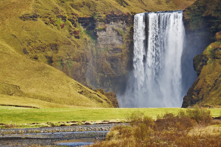 Skogafoss Waterfall, Iceland - ...behind every picture, there is a story...