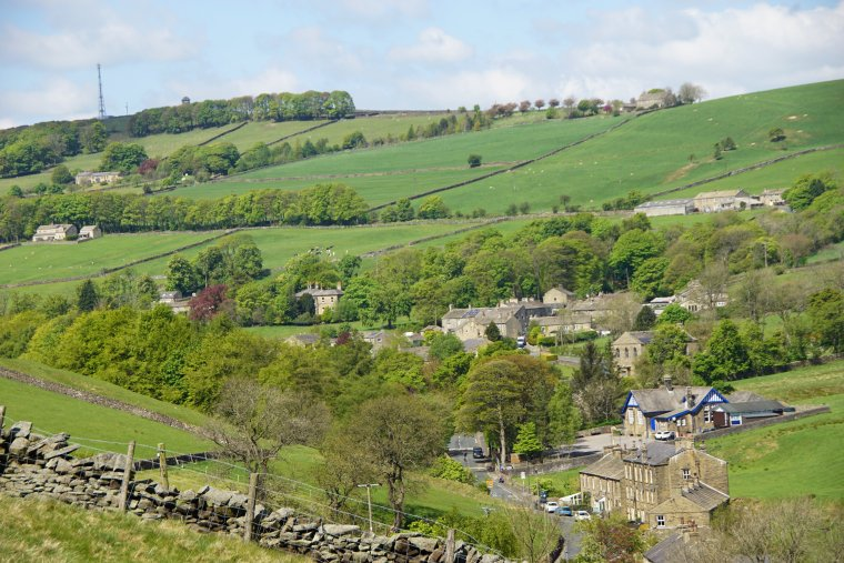 The Fold, Lothersdale, Craven, North Yorkshire, England.