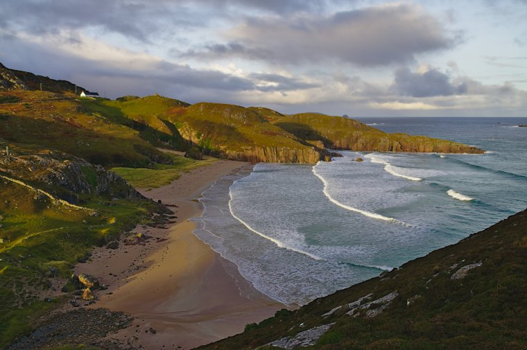 Tràigh Allt Chàilgeag beach, Durness, Sutherland, North West Coast Scotland - ...behind every picture, there is a story...