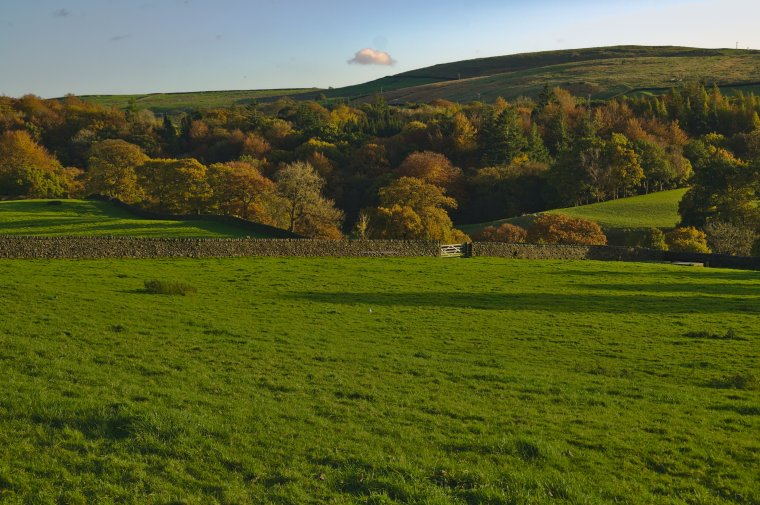 Autumn at Storiths, Bolton Abbey, Craven, North Yorkshire - ...behind every picture, there is a story...