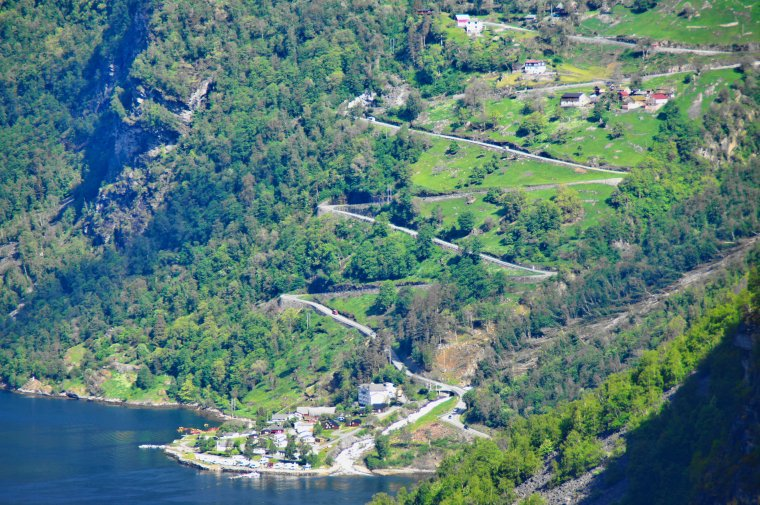 Ornevegen (Eagle Road) and Geirangerfjorden, Møre og Romsdal, Norway - ...behind every picture, there is a story...