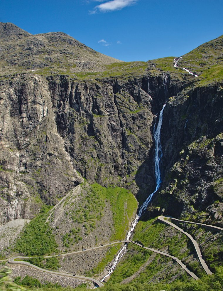 The Trolls Road (Trollstigen  11 hairpin bends), Møre og Romsdal, Norway - ...behind every picture, there is a story...