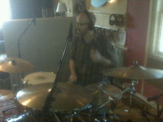 Duncan recording with James Keyes
