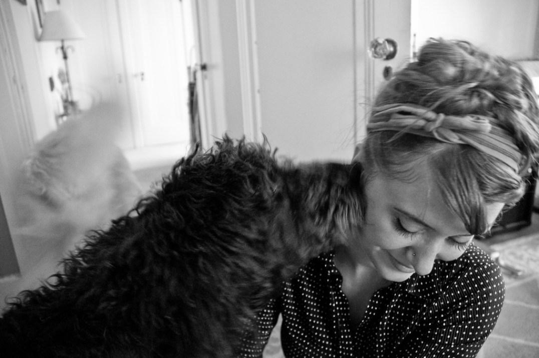 Maggie Kisses Annie