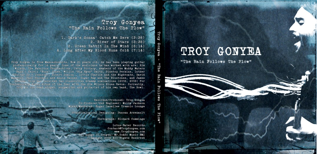 Troy Gonyea CD Artwork