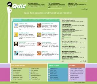 Ok Quiz Website