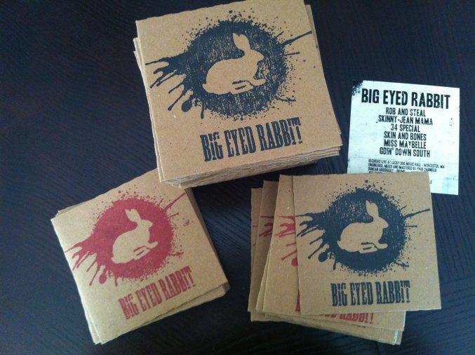 Big Eyed Rabbit CD Artwork
