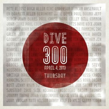 Dive #300 Poster