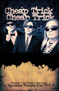 Cheap Trick autograph poster - Designed by Duncan Arsenault