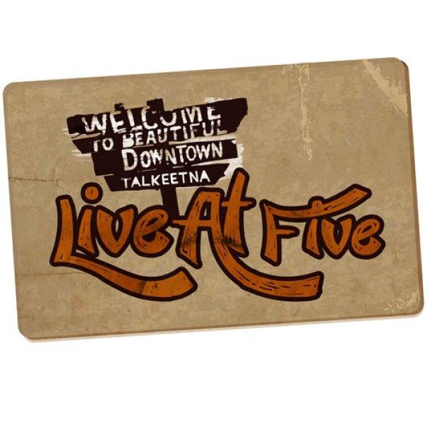 Live at Five Logo Concept
