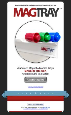 OptiMA Inc MagTray Email