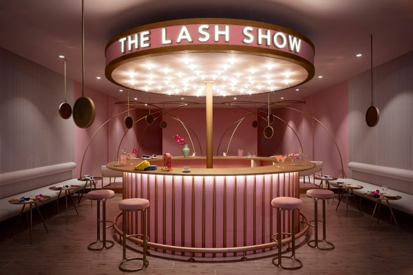Interior photograph of the Lash Show Boutique by photographer Duncan Chard