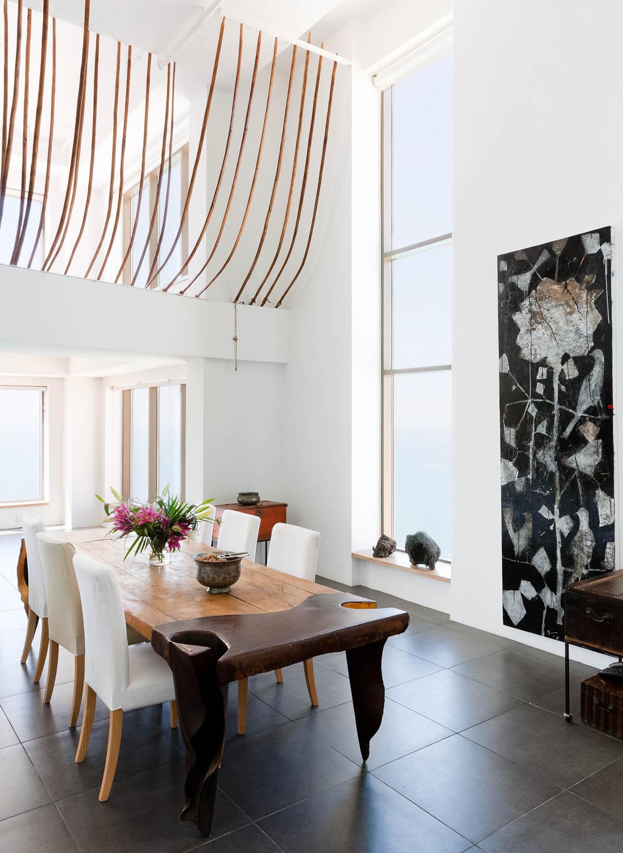 Interior design of a penthouse loft apartment,  Jumeriah Beach Residence, Dubai.