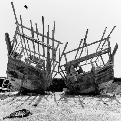 Trading Dhows, part of the project, From the inside out by Duncan Chard