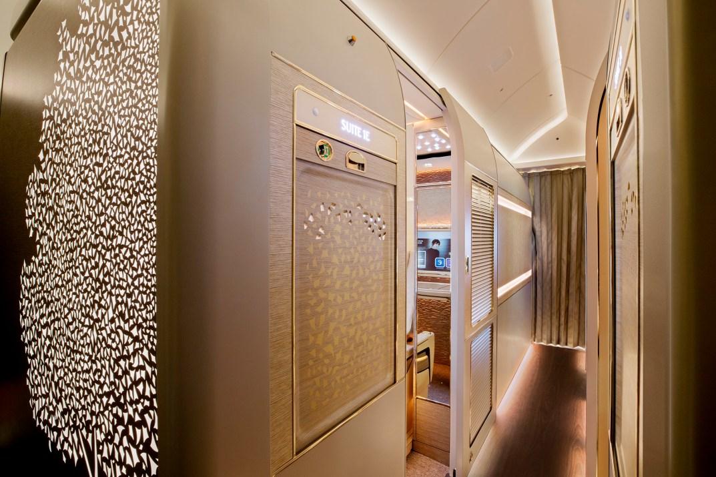 Emirates First Class Corridor