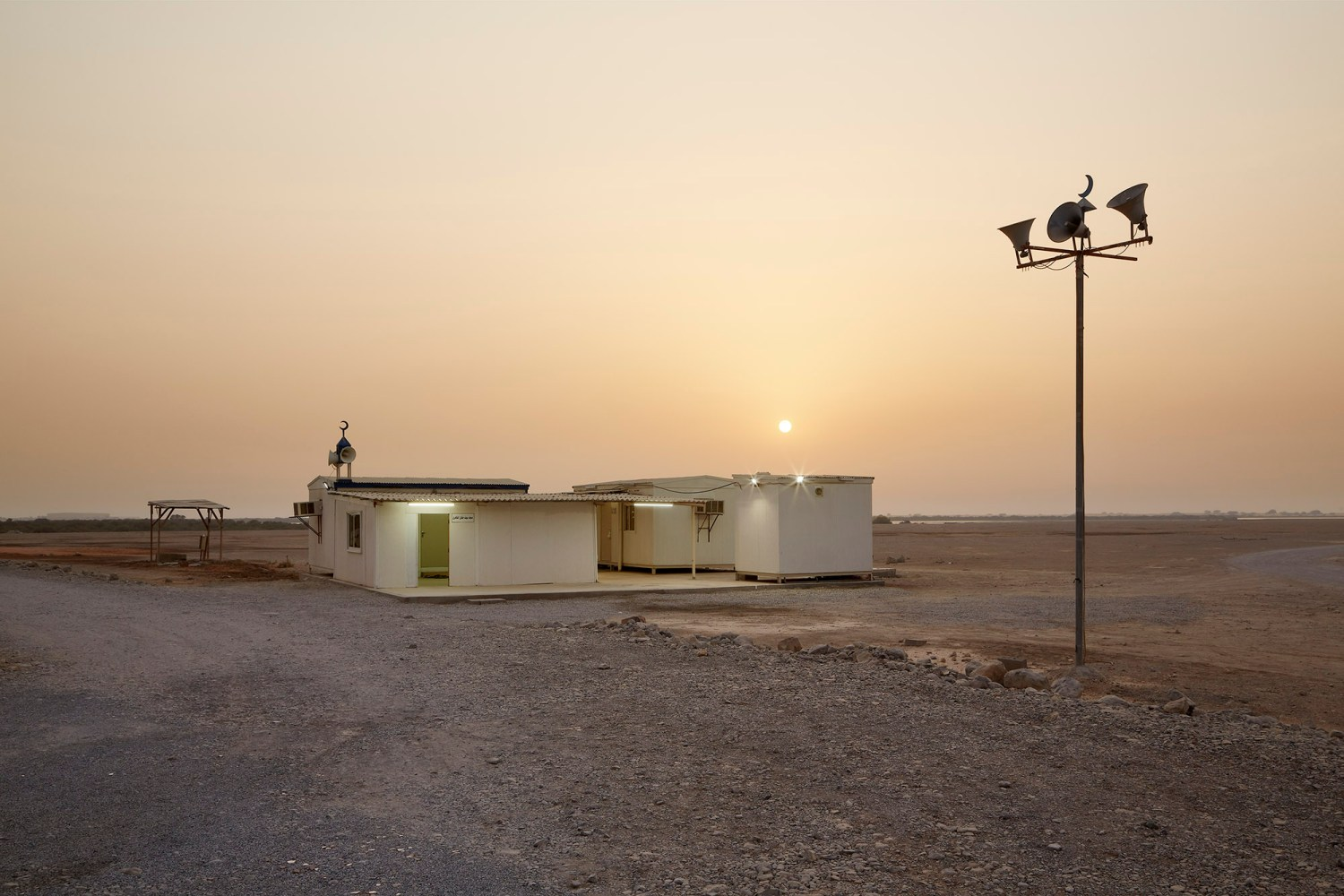 architectural photography-Mosque in Ras Al Khaimah
