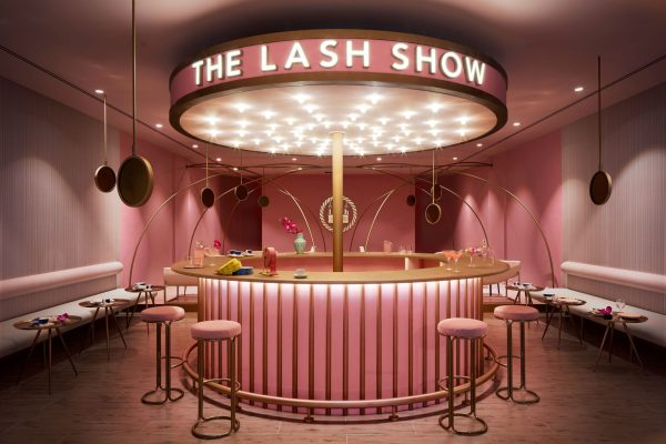 An Interior photograph of the Lash Show Boutique in Dubai by photographer, Duncan Chard.