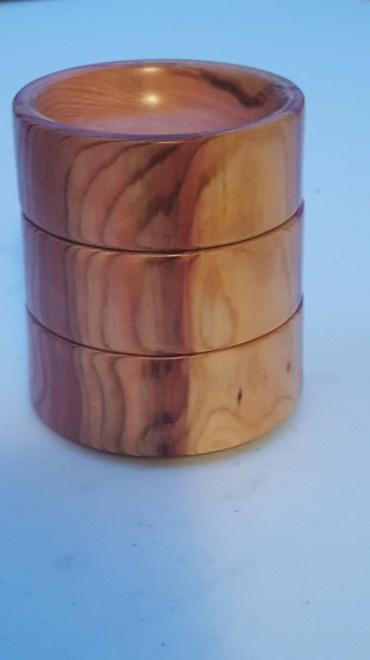 Wellingtonia stacking bowls