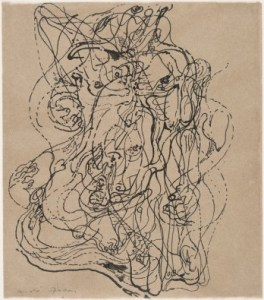Andre Masson automatic drawing