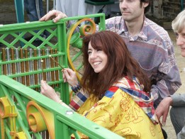 Henry Dagg: Musical railings and gates opening by Dame Evelyn Glennie