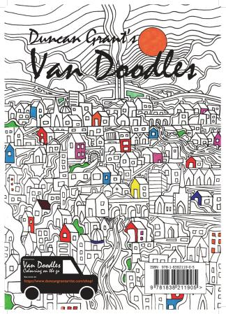 Duncan Grant's Van Doodles Colouring Books