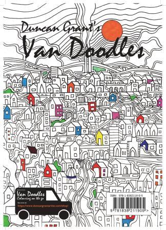 Duncan Grant's Van Doodles Colouring Book